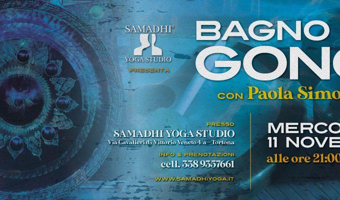 20 Ottobre ore 20,30 – Bagno di Gong con Paola Simonelli
